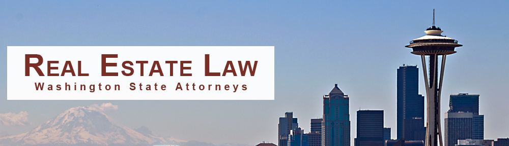 Seattle Washington Real Estate Lawyers